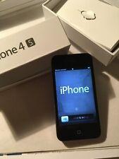 iPhone 4S nero, 16GB, sbloccato, ottimo. Zero difetti.