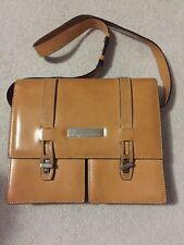 TRUSSARDI Vintage leather Satchel with dust bag.