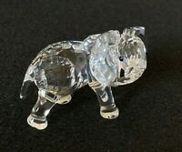 RARE Retired Swarovski Crystal Elephant Little 674587 Mint Boxed New 7610