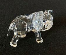 RARE Retired Swarovski Crystal Elephant Little 674587 Mint Boxed