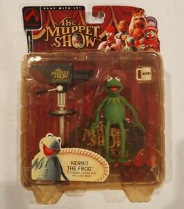The Muppet Show Kermit the Frog Series 1 figure by Palisades Toys 2002
