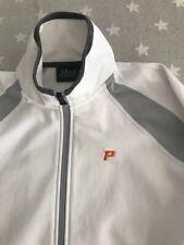 PEAK PERFOMANCE  Fleece Weste TAHOMA  Sportweste weiß grau Gr. L - NP:159€ (0,5)