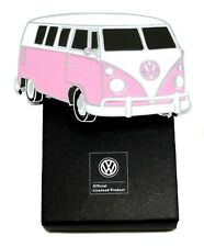 Volkswagen Belt Buckle VW Camper - Pink & White - Authentic Officially Licensed
