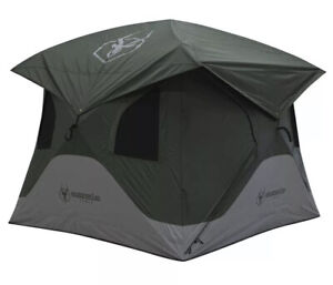 Gazelle 4 Person Camping Hub Tent, Size L - Green