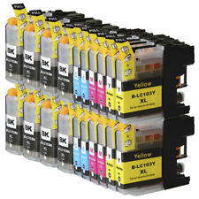 20 NON-OEM INK CARTRIDGE BROTHER LC-103XL LC-101 XL MFC-J4710DW MFC-J4310DW