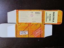 BOITE VIDE NOREV  MATRA RANCHO 1980 EMPTY BOX CAJA VACCIA