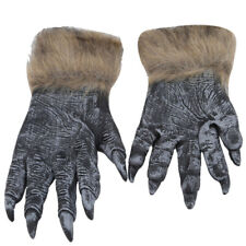 1Pair Attack on Titan Muscle Long Arm Full Finger Gloves Halloween Cosplay Props
