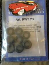 TAMEO 1/43 SCALE FORMULA ONE F1 TYRES SET PWT23 2 SETS GROOVED TYRES 1998