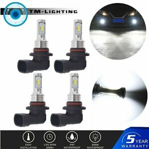for Toyota Corolla 2001-2013 9005 9006 Combo LED Headlight Bulbs High & Low Beam