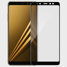 For Samsung Galaxy A6/A8/A8 Plus 2018 Full CoverTempered Glass Screen Protector