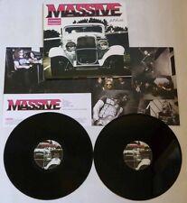 """Massive """"Full Throttle"""" Gatefold 2x12"""" Black Vinyl - NEW & SEALED"""