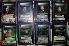 STAR TREK CCG 1E ENTERPRISE COLLECTION COMPLETE SET 18 FOILS BRAND NEW