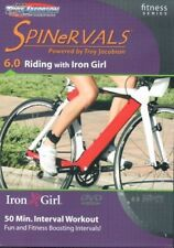 SPINERVALS FITNESS SERIES 6.0 RIDING WITH IRON GIRL CYCLE BIKE EXERCISE DVD NEW