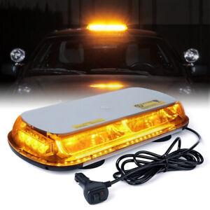 30 LED 24V Rundumleuchte Magnet Strobe Licht Warnleuchte Notfall Lampe Auto KFZ