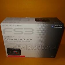 Playstaton 3 PS3 Hori FS3 fighting stick arcade fightstick contrôleur boxed