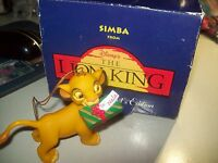 DISNEY GROLIER ORNAMENT President's Edition Simba from The Lion King w/box
