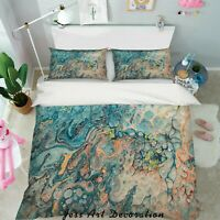 3D Abstract Blue Pattern Quilt Cover Duvet Cover Comforter Cover Single/Queen 97