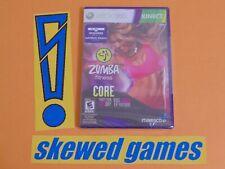 Zumba Fitness Core - New Sealed - XBox 360 Microsoft