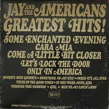 DISCO 33 GIRI - JAY AND THE AMERICANS - JAY AND THE AMERICANS GREATEST HITS