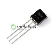 100PCS NEW S9014 S9014C TO-92 NPN 50V 0.1A Transistor