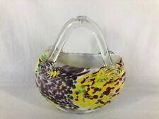 Art Glass Purse Handbag (ref Y724)