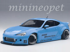AUTOart 78758 ROCKET BUNNY TOYOTA 86 1/18 METALLIC SKY BLUE with BLACK WHEELS