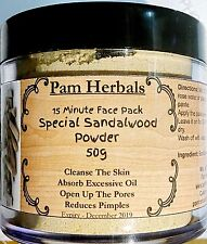 Pam Herbals Khadi Special Sandalwood Powder For Face pack,Worship & Auspicious