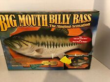 VINTAGE 1998 BIG MOUTH BILLY BASS THE SINGING SENSATION NEW IN BOX FISH