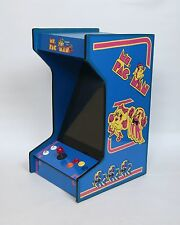 *New* Ms. Pac-Man Upright Bartop/Tabletop Arcade Machine With 60 Classic Games