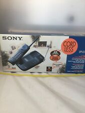 Sony Spp-Q110 Home Cordless Phone Vintage Nos Clear Scan 25 Base Paging