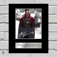 Benedict Cumberbatch Signed Mounted Photo Display Doctor Strange