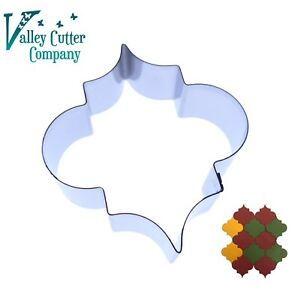 Moroccan Tile #1  Cutter - Stainless Steel - Mosaic Pattern Retro Geometric