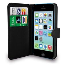 For APPLE IPHONE 5 & 5S Premium Leather Magnetic Flip Wallet Case Cover