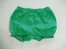 CARTERS 6 MONTH GIRLS SHORTS GREEN (GENTLY PREOWNED)