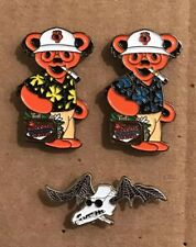 Grateful Dead Bear Hunter S. Thompson Pin Pack.  Ralph Steadman. High Quality!
