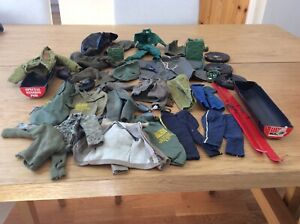 Action Man Joblot Of Clothing & Some Accessories