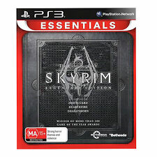 The elder scrolls v skyrim Essentials Legendary Edition Sony PS3 Game