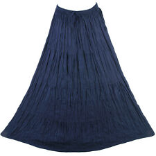 Bohemian Tier Long  Skirt Boho Hippy Hippie Gypsy Blue XS-XL sk167s