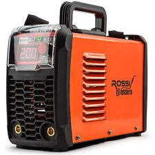 ROSSI Welder Inverter MMA 200-Amp ARC Welding Machine DC iGBT Stick Portable