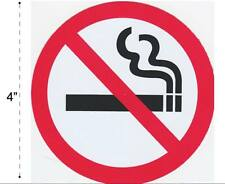No Smoking Vinyl Sticker Decal Warning Safety Sign Store Office Building Home #2