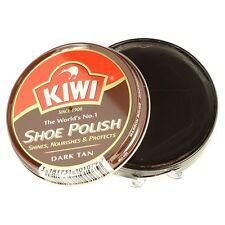 Kiwi dunkelbraun Schuhcreme Shiner Schoner 50ml Zinn für Leder Stiefel