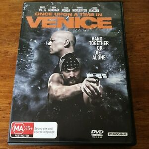 Once Upon a Time in Venice DVD R4 Like New! FREE POST