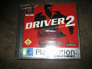 PS1 Spiel  DRIVER 2, Back on the Streets   s. Foto u. Beschreibung !!!