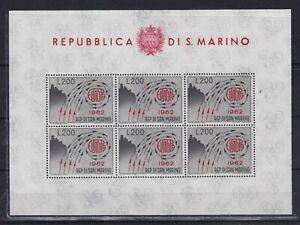 SAN  MARINO  (Y043 ) 1962/77  two  souv. sheet   -  mnh