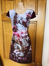 Ted Baker Magnolia Floral tunic dress size 2/10  BNWT!!!