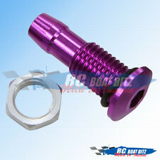 RC Boat Small size water outlet Purple 521B40-P