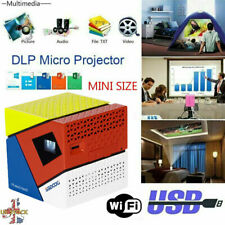 Smart Cube P1 Mini Micro DLP Projector Android Wireless WiFi Home Theater JO