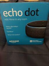 AMAZON ECHO DOT GEN 3 SMART SPEAKER BRAND NEW CHARCOAL