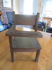 "Wood Doll desk chair fits most dolls esp 16"" dolls"