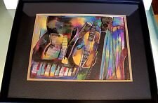 INSTRUMENT III---SIGNED--165/395--LITHOGRAPH-- BY JOANNA TYKA WITH CERTIFICATES